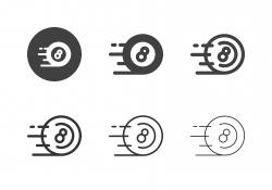 Speed Eight Ball Icons - Multi Series