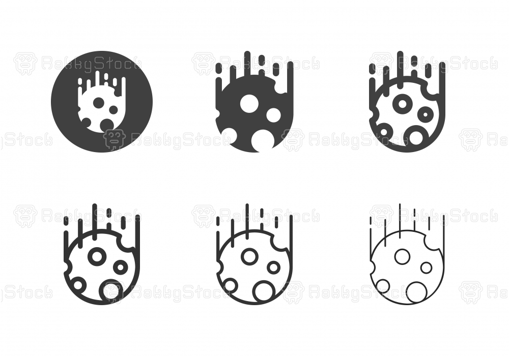 Meteorite Icons - Multi Series