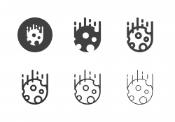 Meteorite Icons - Multi Series