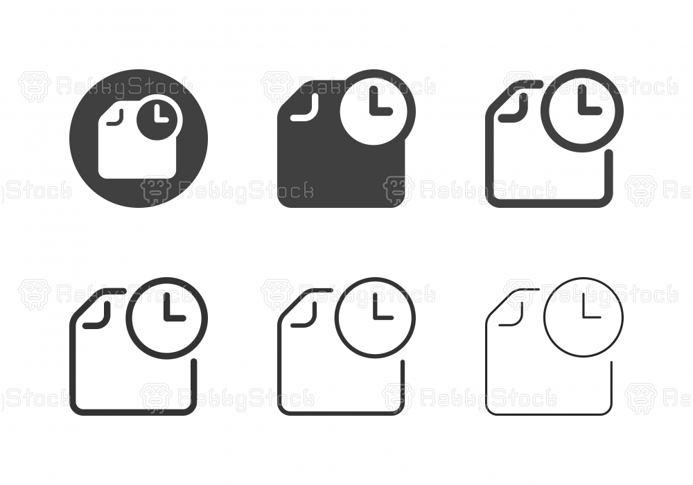 Schedule Icons - Multi Series