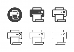 Printout Icons - Multi Series