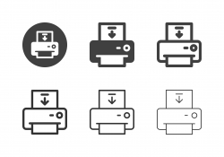 Loading Paper Icons - Multi Series