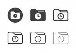 Backup Folder Icons - Multi Series