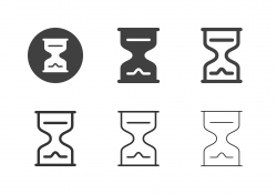 Hourglass Icons - Multi Series