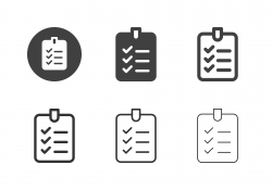 Checklist Board Icons - Multi Series
