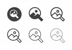 Landscape Survey Icons - Multi Series