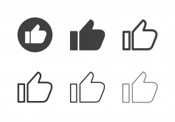 Thumb Up Icons - Multi Series