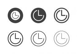Timer Icons - Multi Series