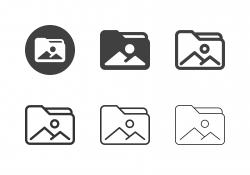 Image Folder Icons - Multi Series