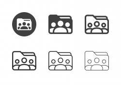 Profile Folder Icons - Multi Series