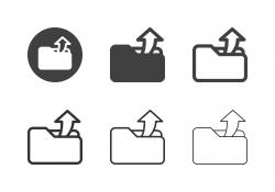 Sharing Folder Icons - Multi Series