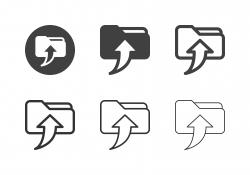 Save to Folder Icons - Multi Series