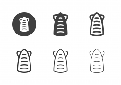 Grilled Squid Icons - Multi Series