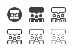 Brainstorming Icons - Multi Series