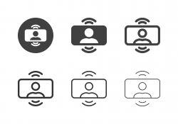 Video Conference Icons - Multi Series