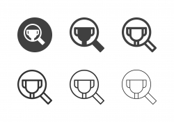 Searching Trophy Icons - Multi Series