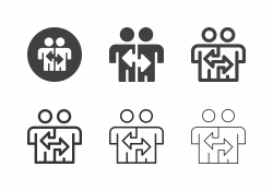 Business Person Change Icons - Multi Series