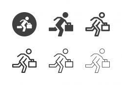 Businessman Icons - Multi Series