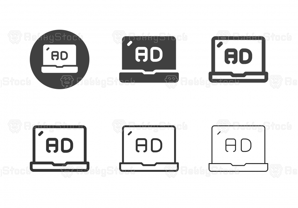Online Advertising Icons - Multi Series