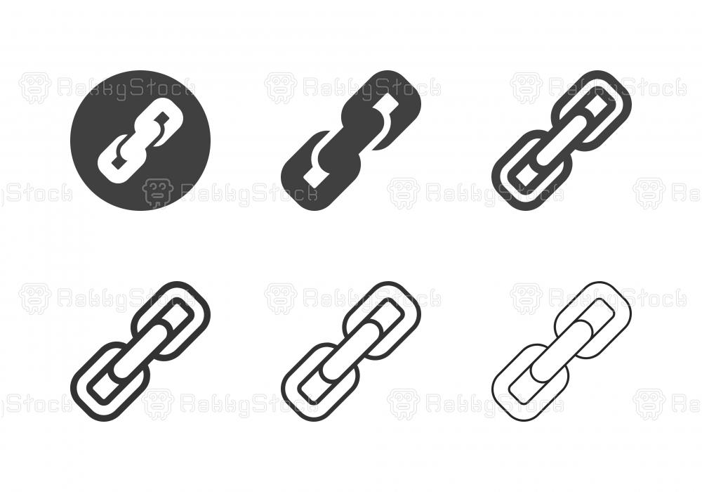 Chain Icons - Multi Series