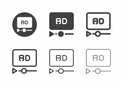 Media Advertising Icons - Multi Series