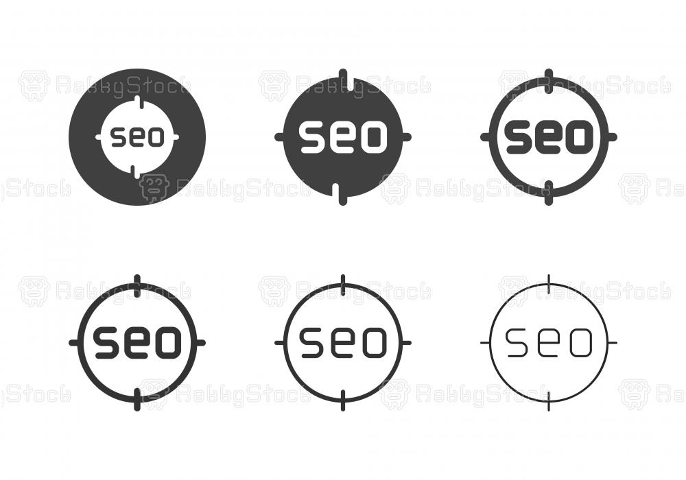 SEO Target Icons - Multi Series