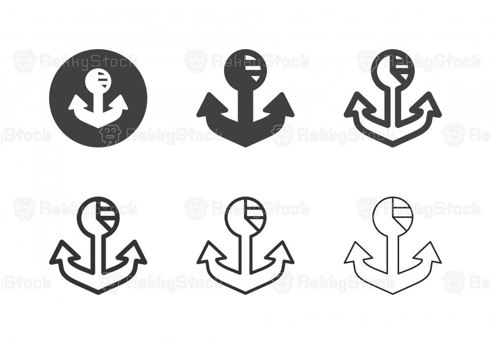Anchor Analytics Icons - Multi Series