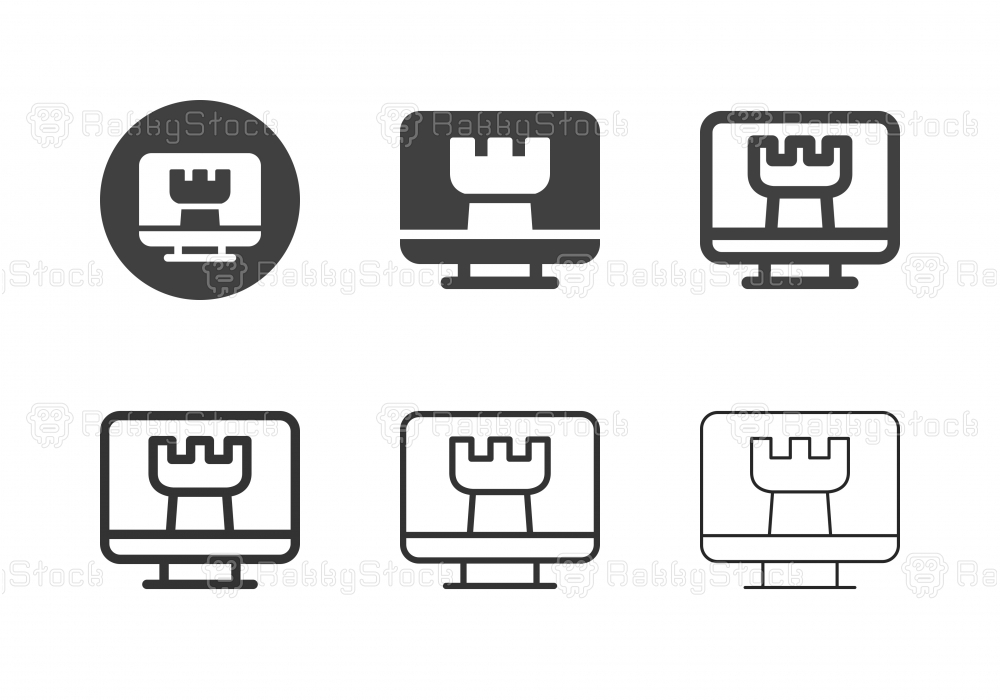 Digital Strategy Icons - Multi Series