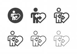 Organ Donation Icons - Multi Series
