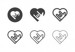 Love Emotion Icons - Multi Series