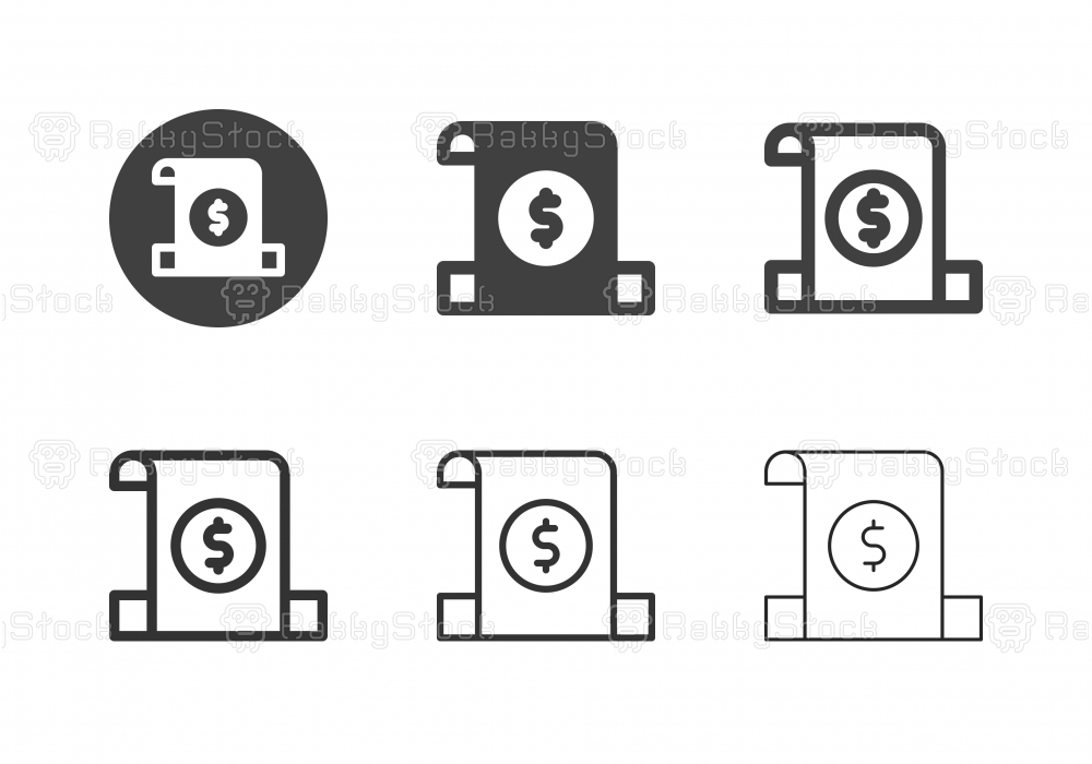 Insert Banknote Icons - Multi Series