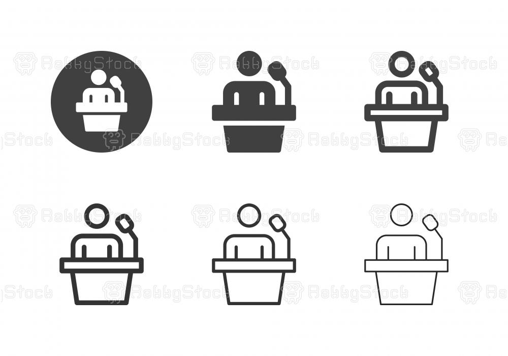 Speaker Icons - Multi Series