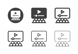Video Presentation Icons - Multi Series