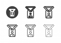 Employee Card Icons - Multi Series