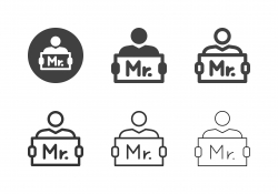 Airport Pickup Sign Icons - Multi Series