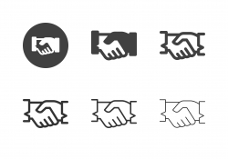 Handshake Icons - Multi Series
