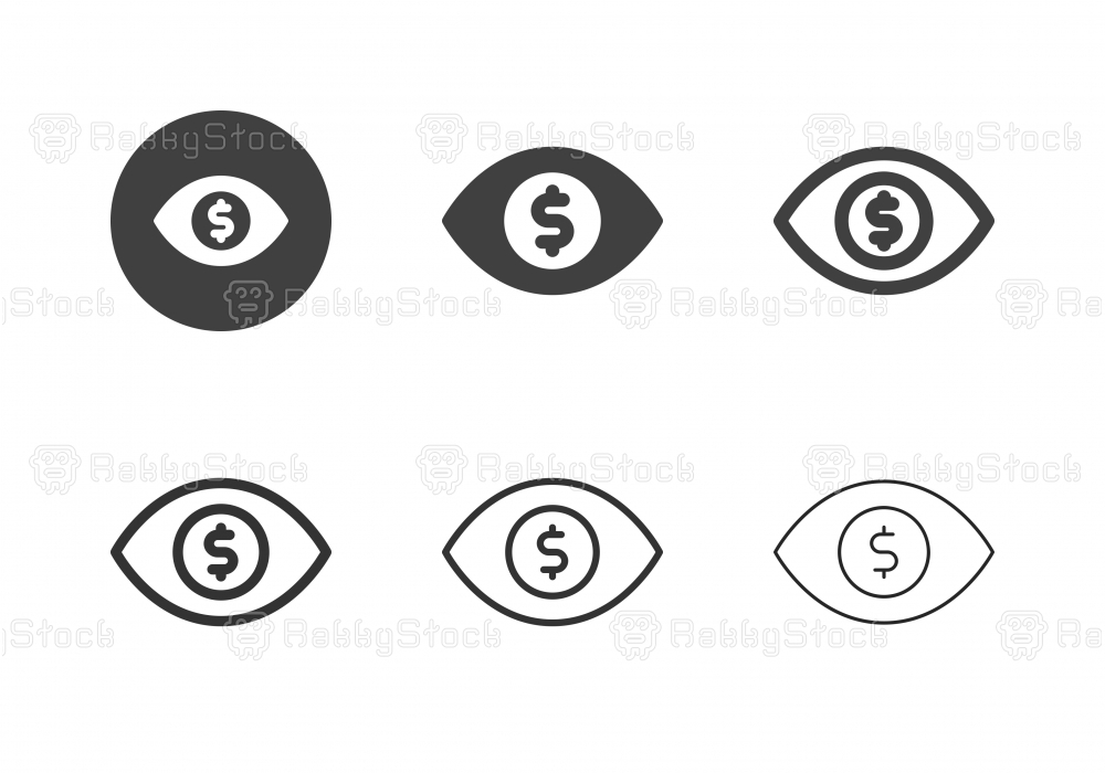 Business Vision Icons - Multi Series