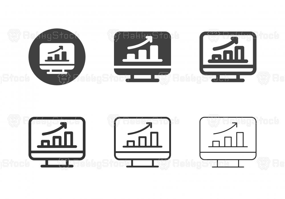 Data Analysis Icons - Multi Series