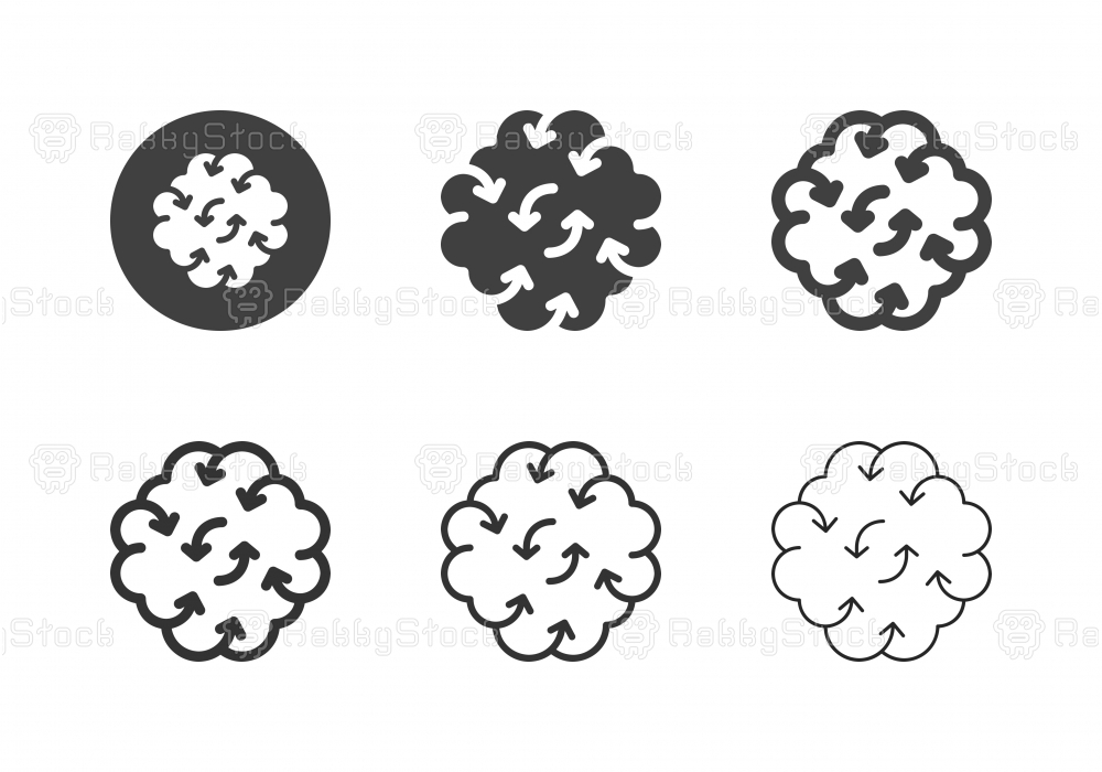 Brainstorming Icons - Multi Series