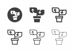 Seedling Growth Icons - Multi Series