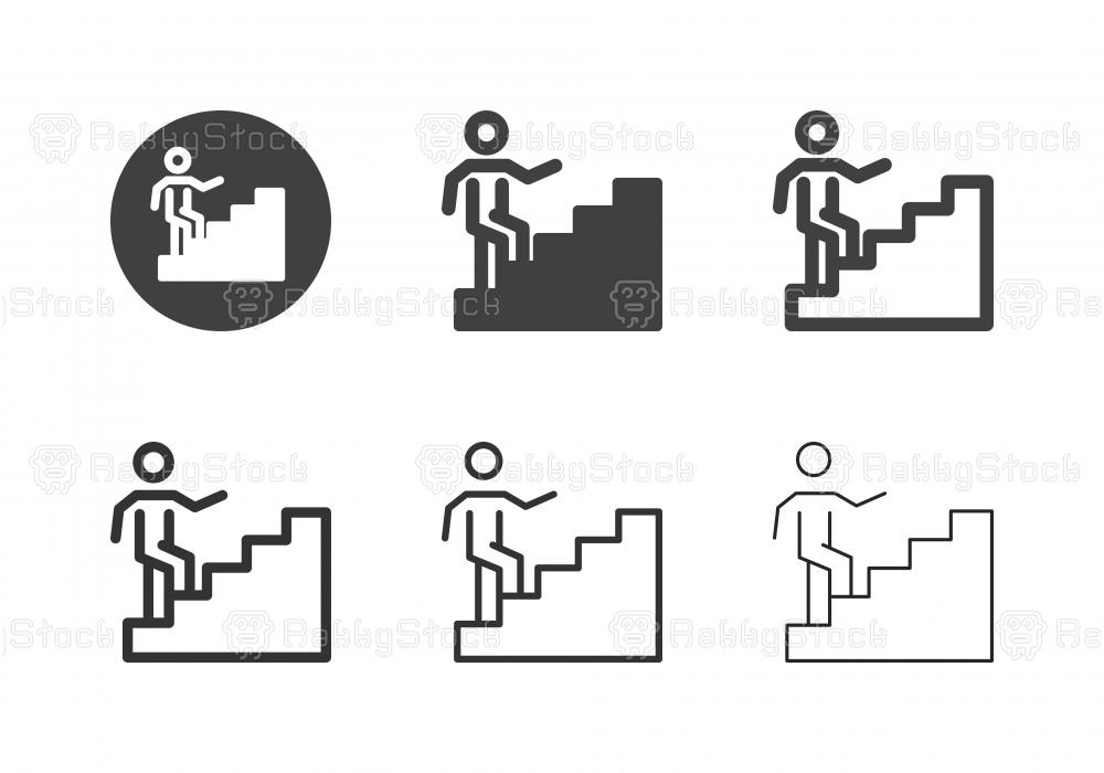 Career Ladder Icons - Multi Series