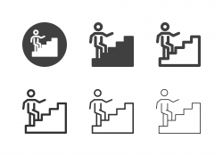 Career Ladder Icons - Multi Series