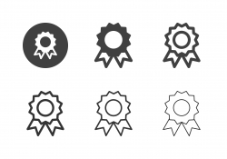 Award Ribbon Icons - Multi Series