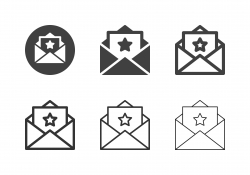 Mail Rating Icons - Multi Series