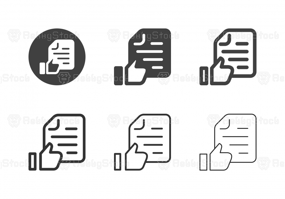Approved Document Icons - Multi Series
