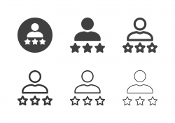 User Review Icons - Multi Series