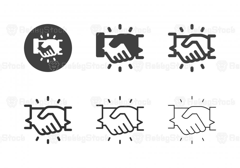 Handshake Icons - Multi Series