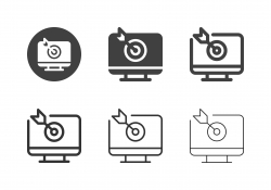 Digital Target Icons - Multi Series