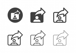 User Sharing Icons - Multi Series