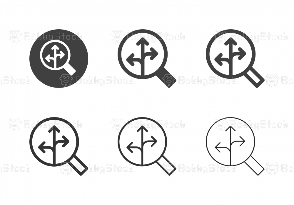 Searching Solution Icons - Multi Series